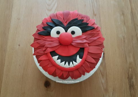 Cake In Shape Of A Muppet